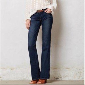 PAIGE SIZE 28 Skyline Bootcut dark wash jeans